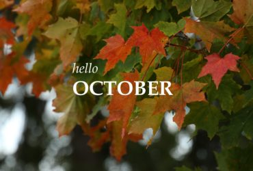 OCTOBER, how I love you!